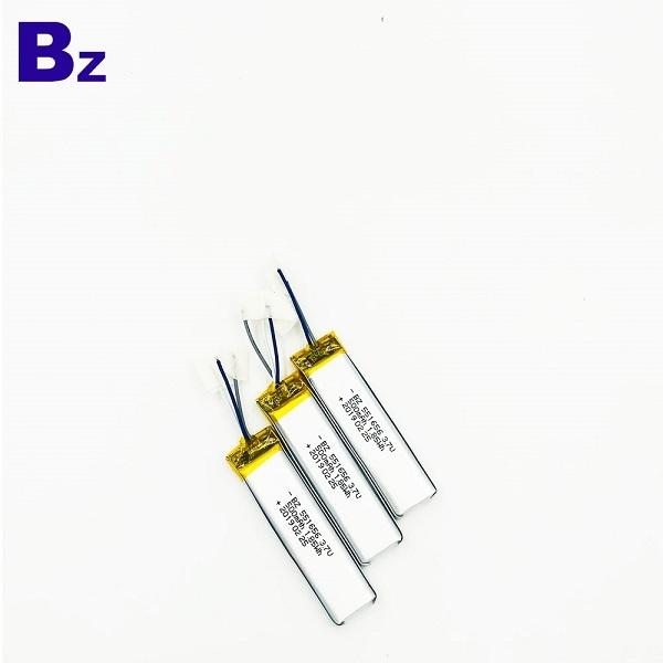 551656 500mAh 3.7V鋰聚合物電池