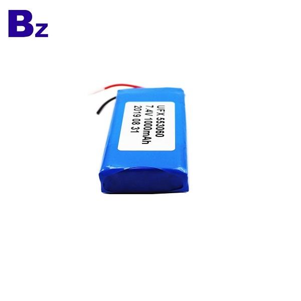553060-2S 1000mAh 7.4V鋰聚合物電池
