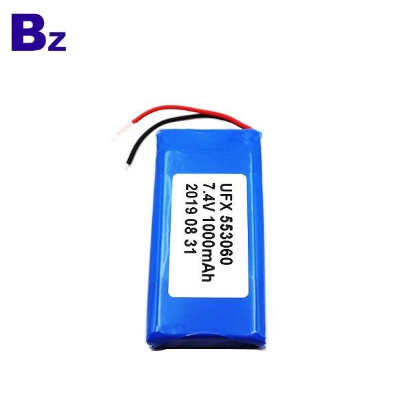 廠家直供553060-2S 1000mAh鋰聚合物電池
