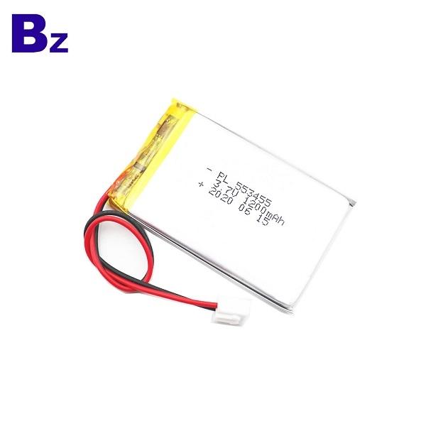 中國優質1200mAh鋰聚合物電池