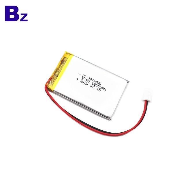 553455 1200mAh 3.7V鋰聚合物電池