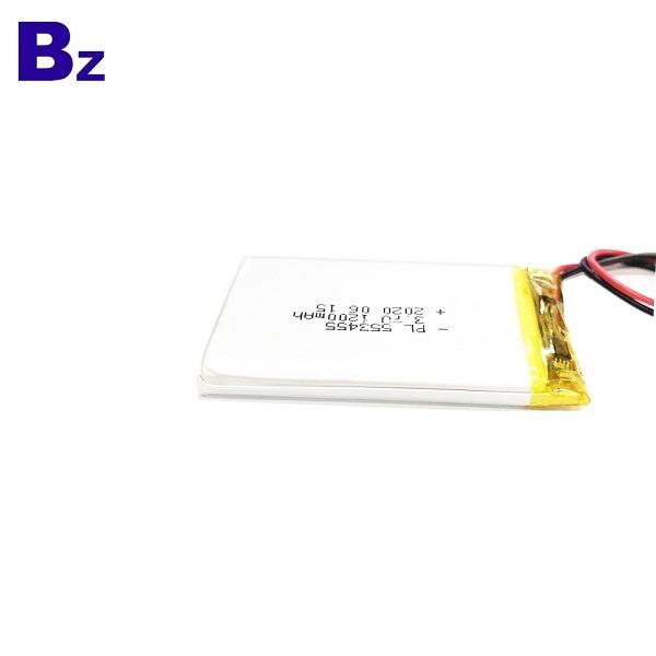 報警系統1200mAh 3.7V鋰電池