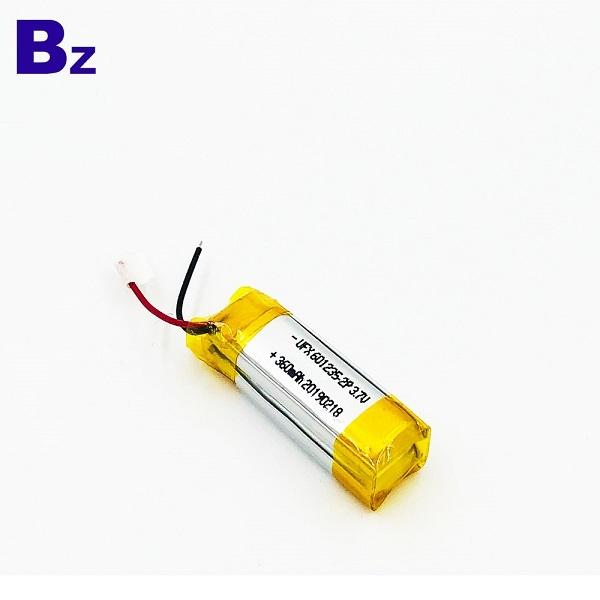 帶線的360mAh鋰離子電池