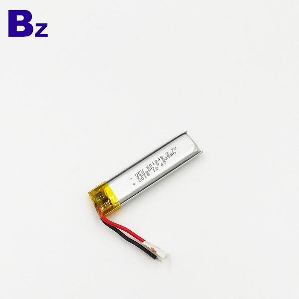 250mAh 3.7V鋰聚合物電池