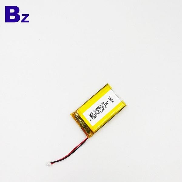 603048 900mAh 3.7V鋰聚合物電池