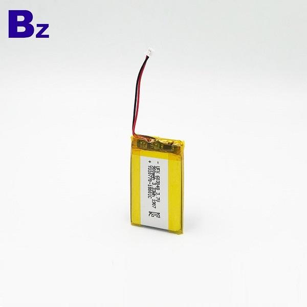 具有KC認證的900mAh鋰聚合物電池
