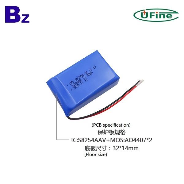 603450-3S 1200mAh 11.1V鋰聚合物電池