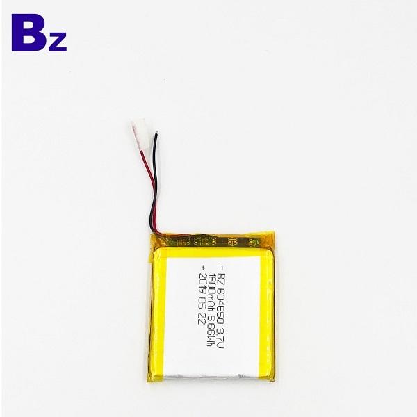 1800mAh 3.7V鋰聚合物電池