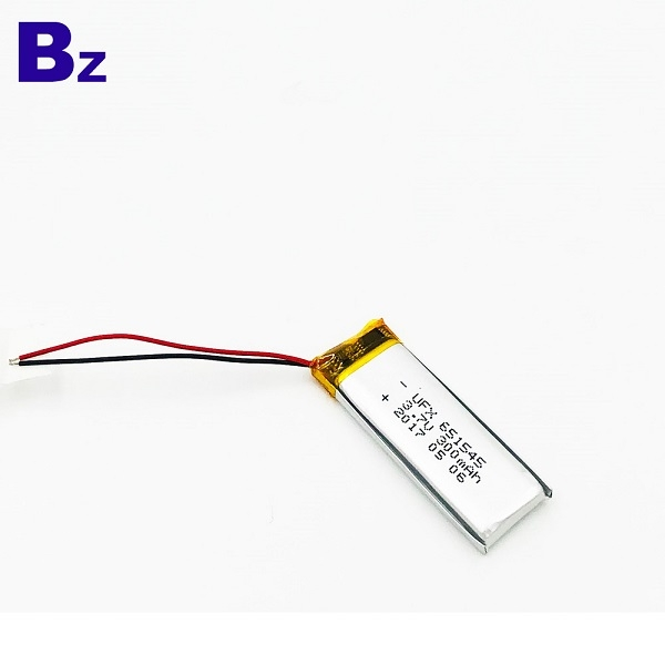 651545 300mAh 3.7V鋰聚合物電池