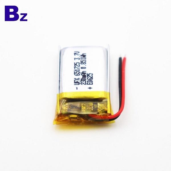適用於智能手錶的230mAh電池