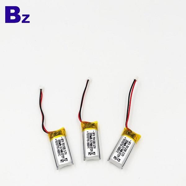 200mAh 3.7V鋰聚合物電池