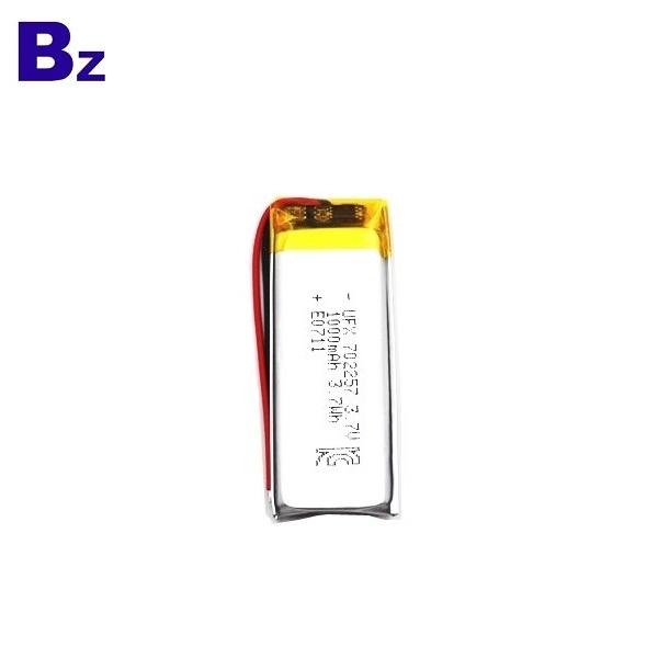 具有MSDS和KC認證的1000mAh鋰電池