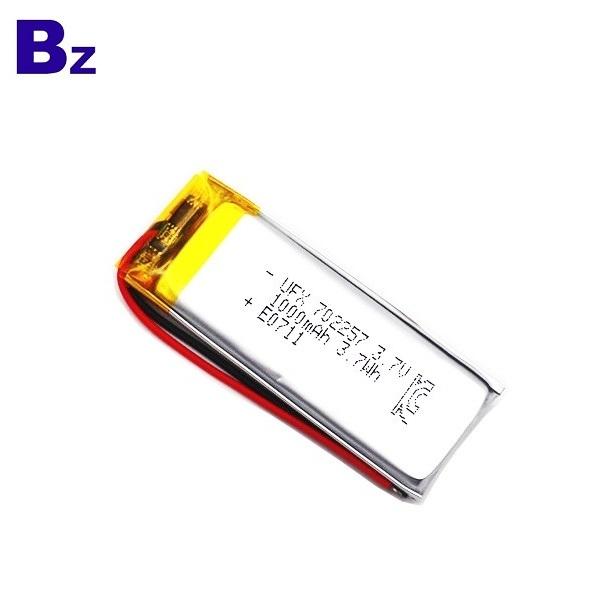 702257 1000mAh 3.7V鋰聚合物電池