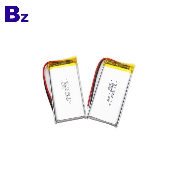 703060 900mAh 3.2V LiFePO4電池