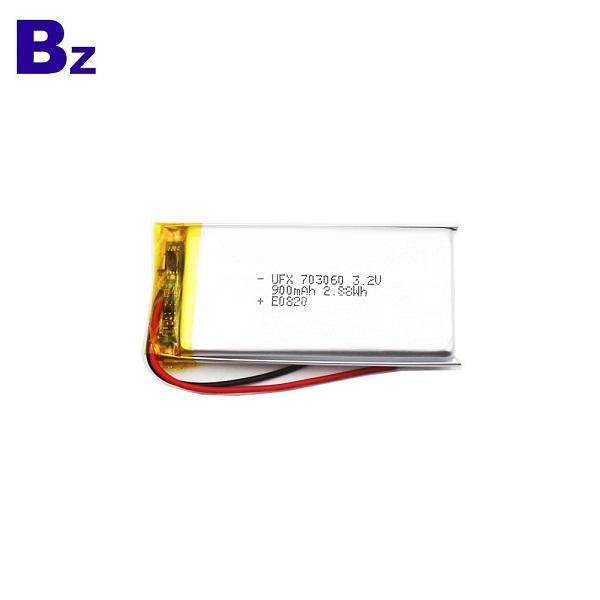 便宜耐用的900mAh LiFePO4電池