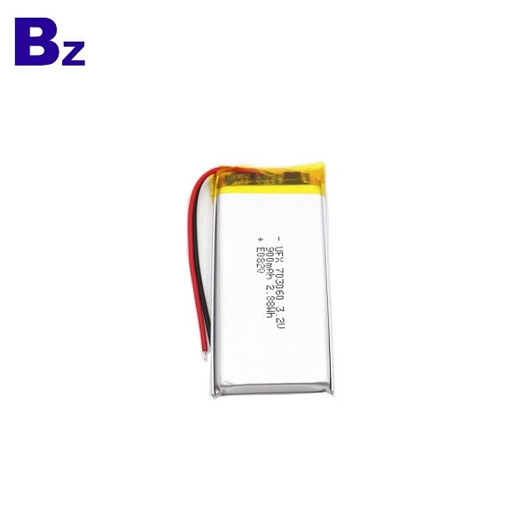 900mAh 3.2V LiFePO4電池