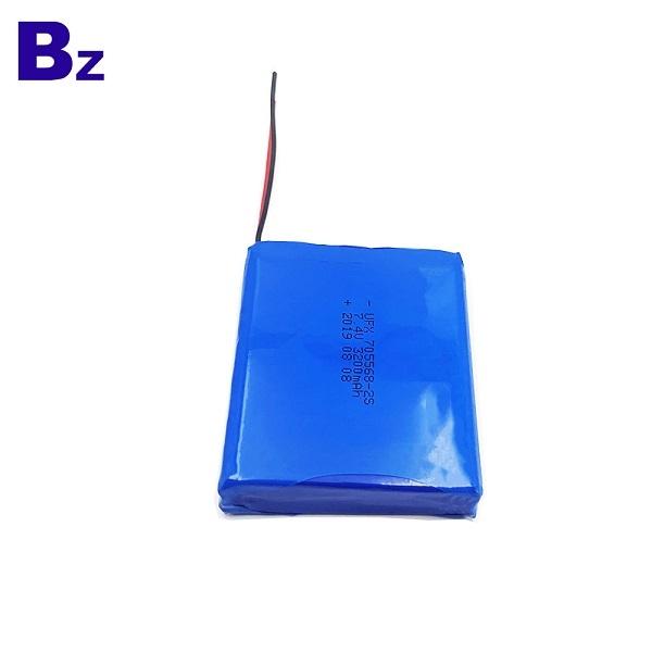 帶導線的3.7V鋰聚合物電池