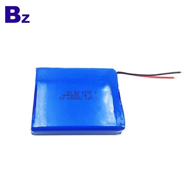 帶導線的3200mAh鋰聚合物電池