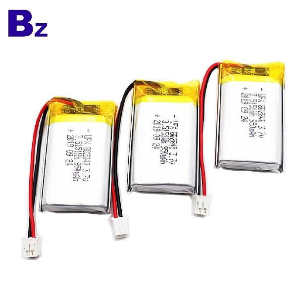 批發950mAh 3.7V鋰電池
