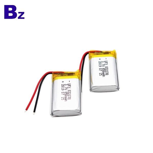 850mAh鋰聚合物電池