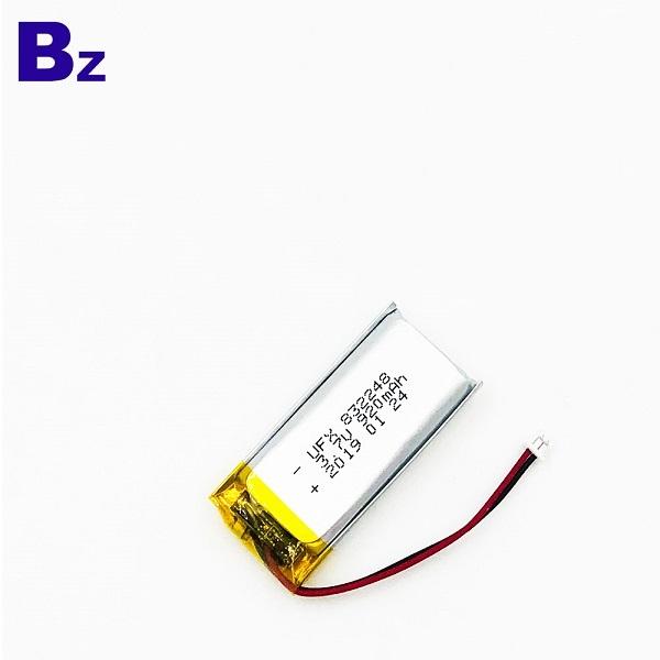 832248 920mAh 3.7V鋰聚合物電池