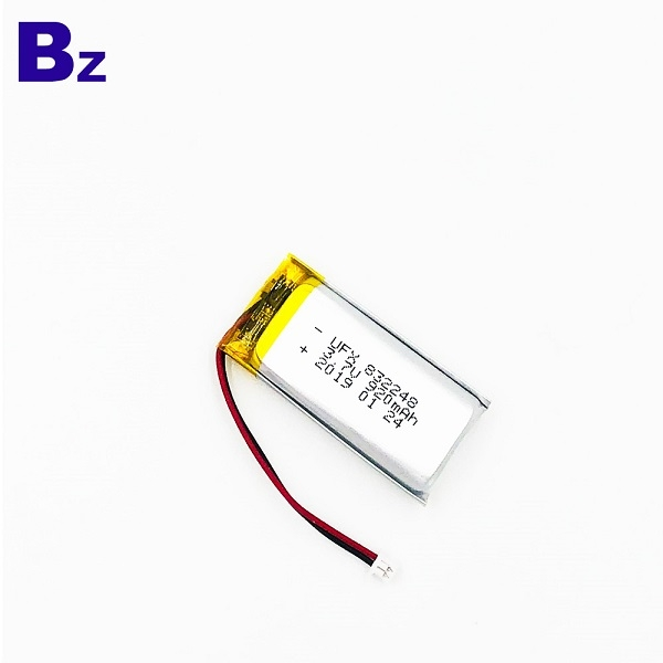 3.7V Lipo電池,具有KC,UL1642和UN38.3認證