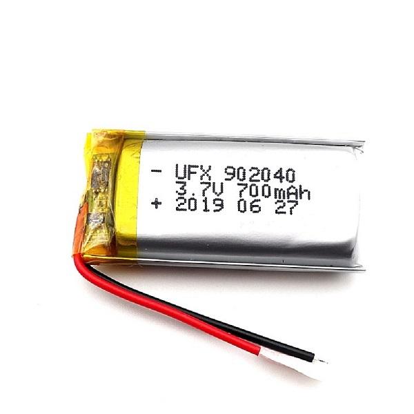 帶電線和插頭的700mAh鋰聚合物電池