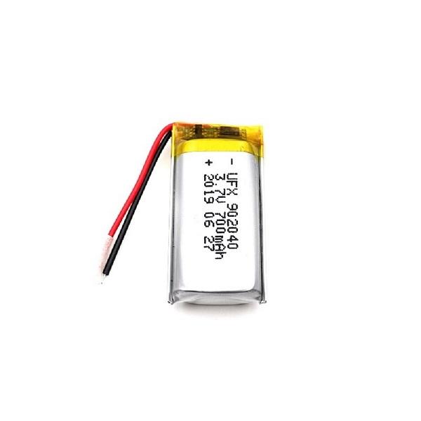 902040 700mAh 3.7V鋰聚合物電池