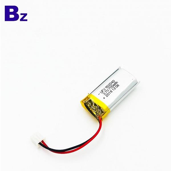 700mAh鋰聚合物電池