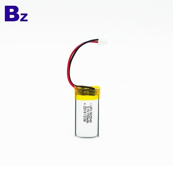 700mAh 3.7V鋰聚合物電池