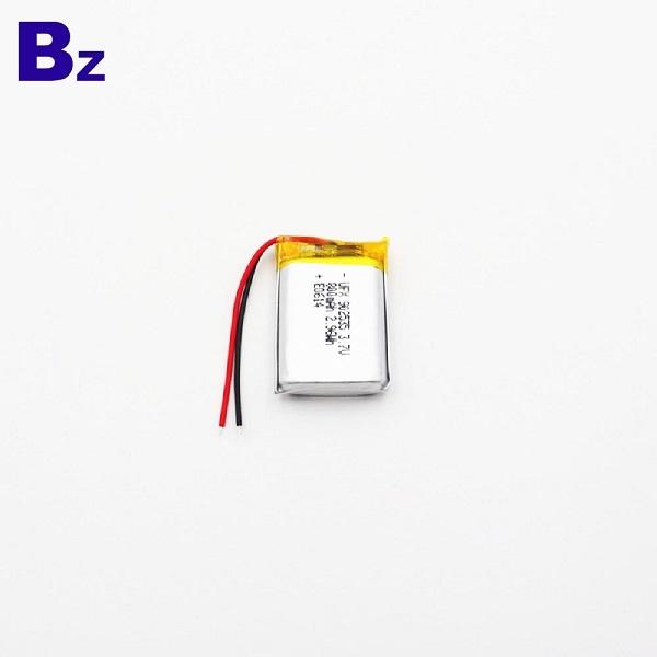 800mAh鋰聚合物電池