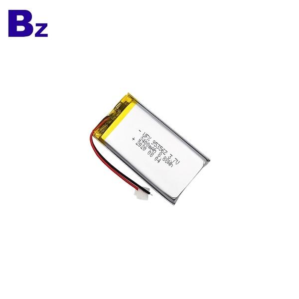 953562 2400mAh 3.7V鋰聚合物電池