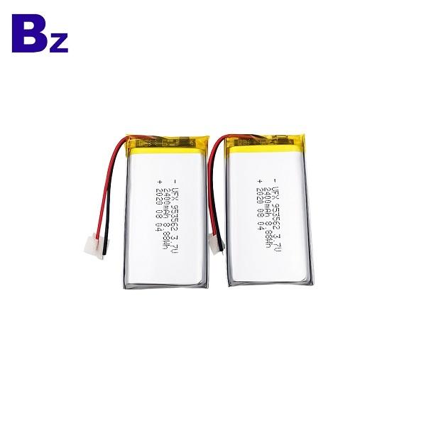 中國工廠供應2400mAh鋰離子電池