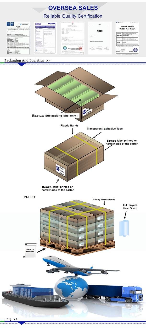 鋰聚合物電池 shipping