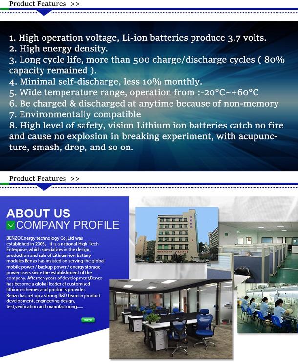 鋰離子電池供應商