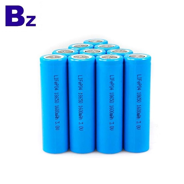 1500mAh 3.2V可充電LiFePO4電池
